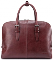 Men Genuine Leather Briefcase