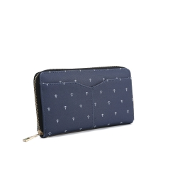 PU zipper wallet