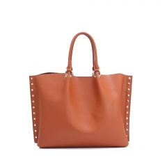 Ladies' leather tote bags